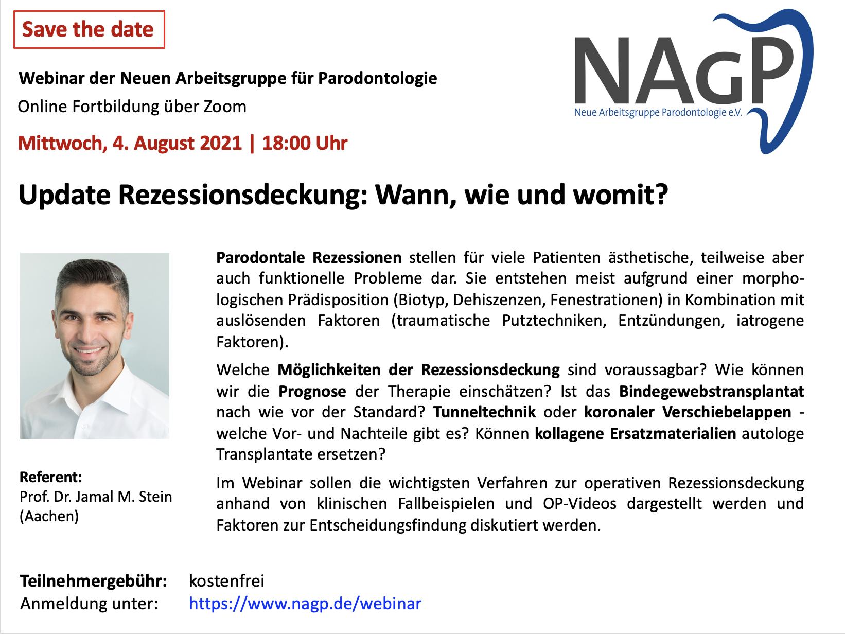 NAGP-Webinar Update Rezessionsdeckung